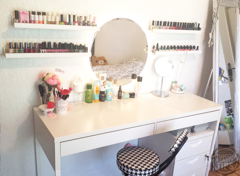 Mon beauty corner de a z mango beauty tips for Miroir youtubeuse